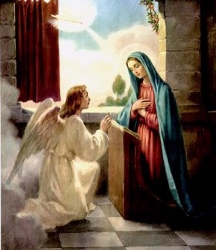 The Annunciation of Blessed Virgin Mary