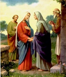 The Visitation of Blessed Virgin Mary