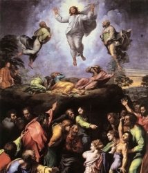 The Transfiguration before Peter, James & John